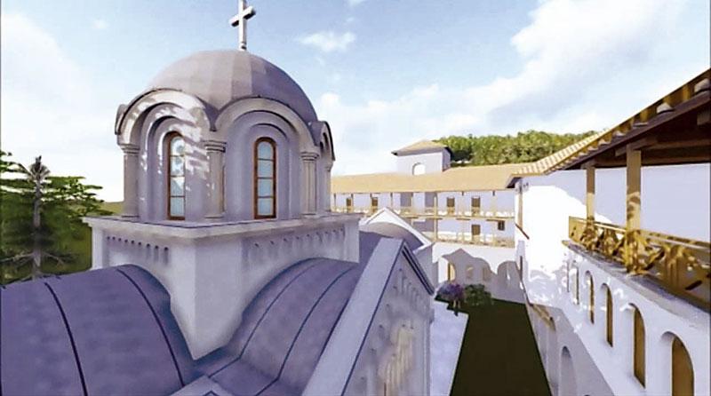 За кров храма сакупљено милион и по динара