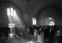 Освештање часног крста